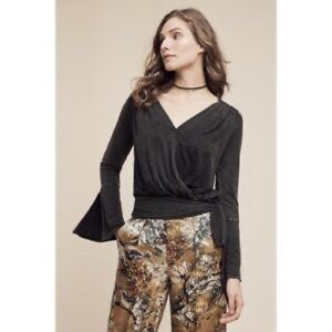 💥3 FOR $30💥 Anthropologie Wrap Top